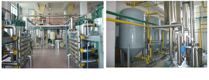 crude palm oil refining machine plant